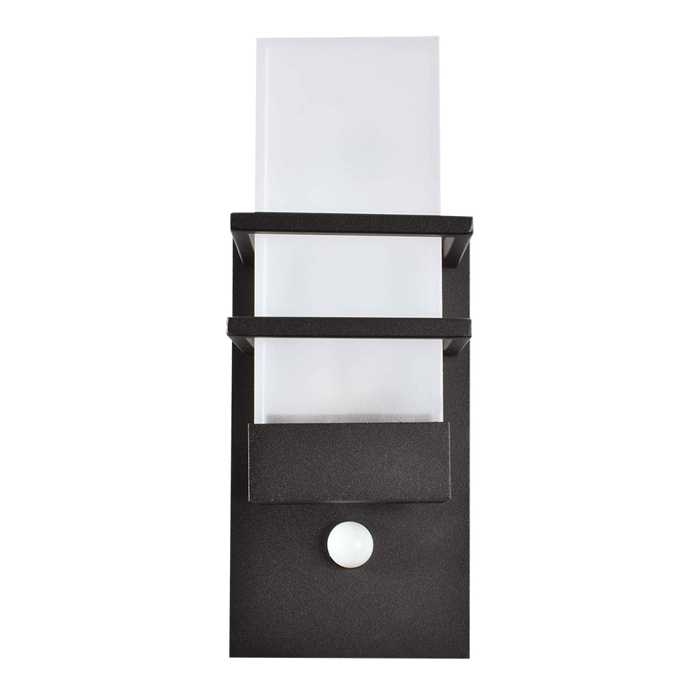 Black Aluminium Contemporary Lantern