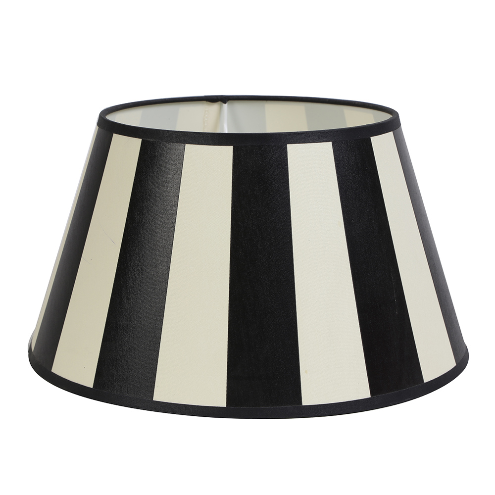 XS King Round Striped Textile Shade