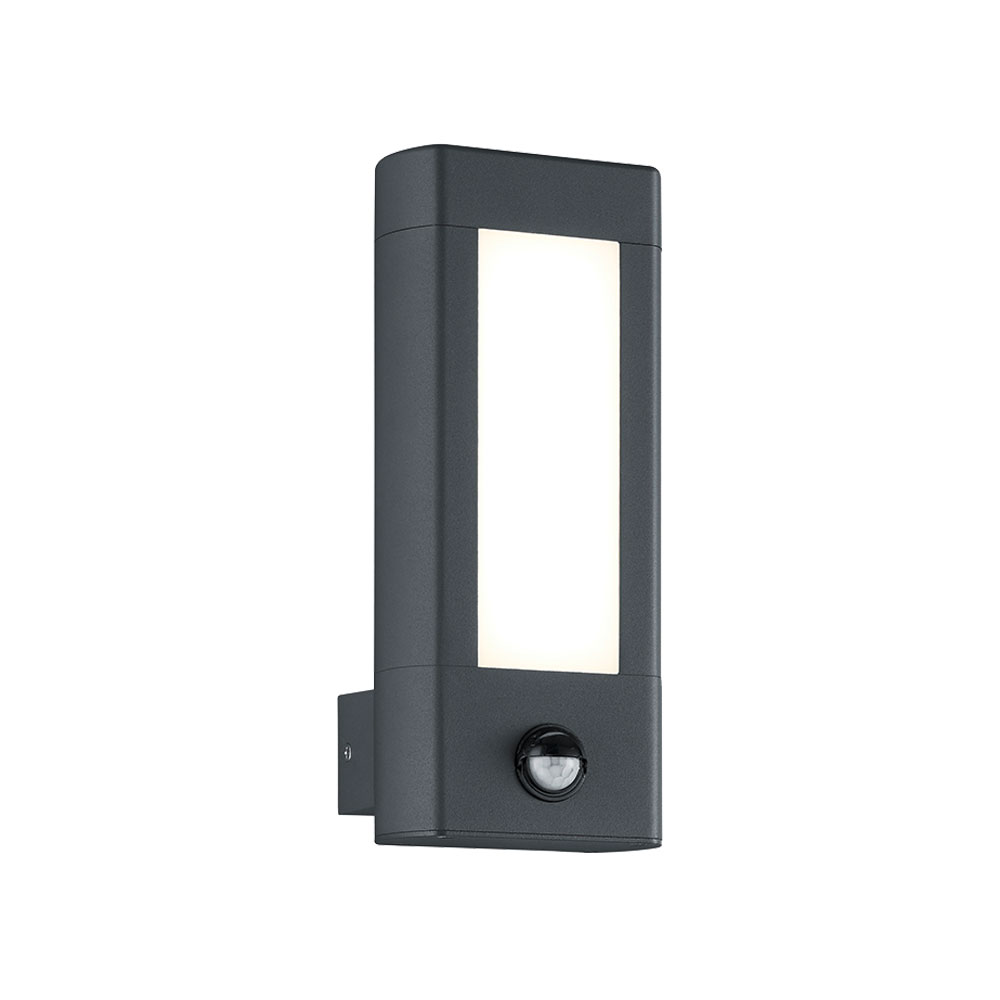 Rhine Rectangular LED Wall Light with PIR