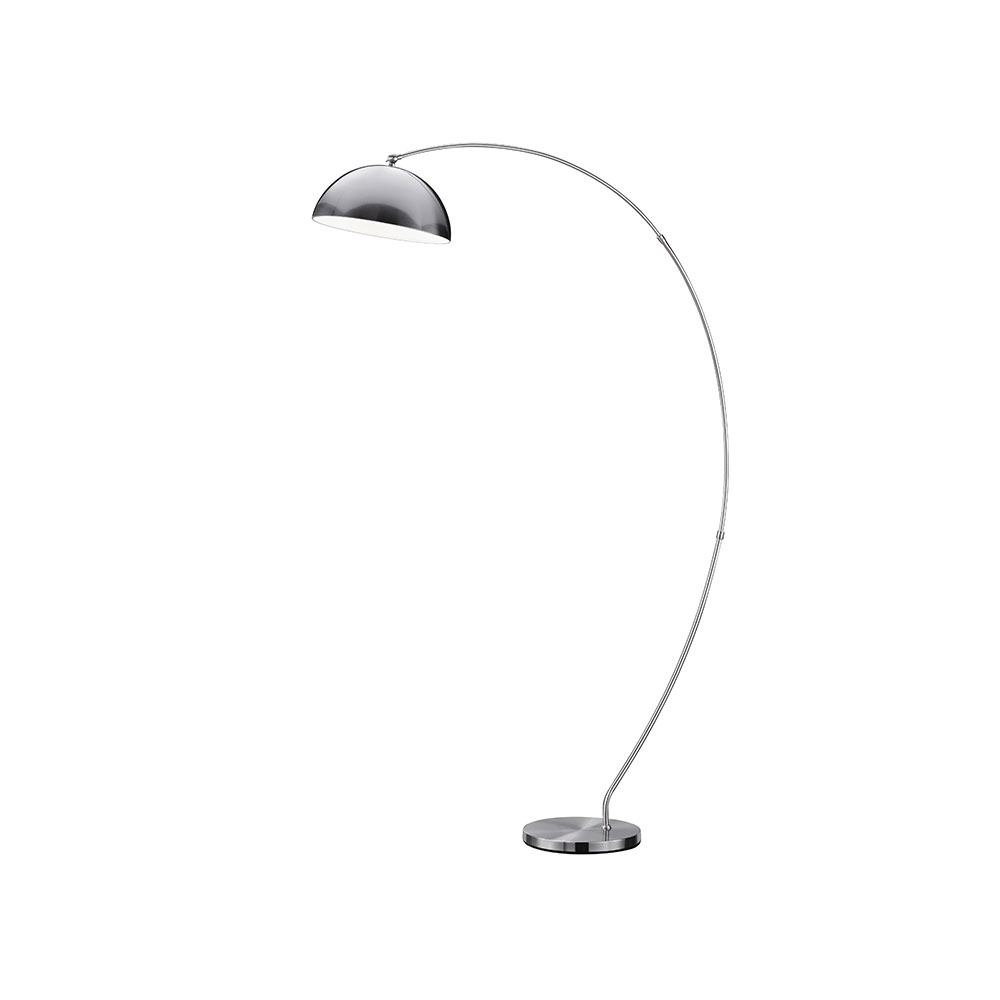 Florestan Matt Nickel Floor Lamp