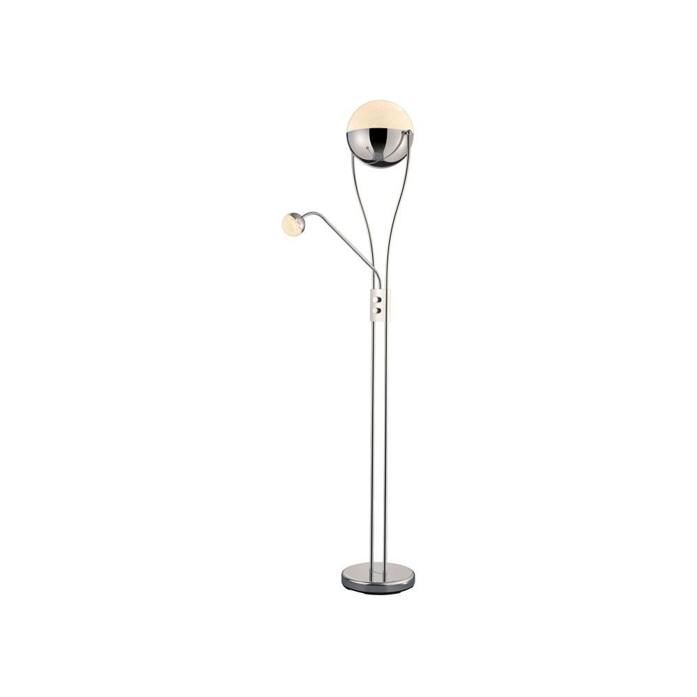 Chris LED Floor Lamp with Reading Light