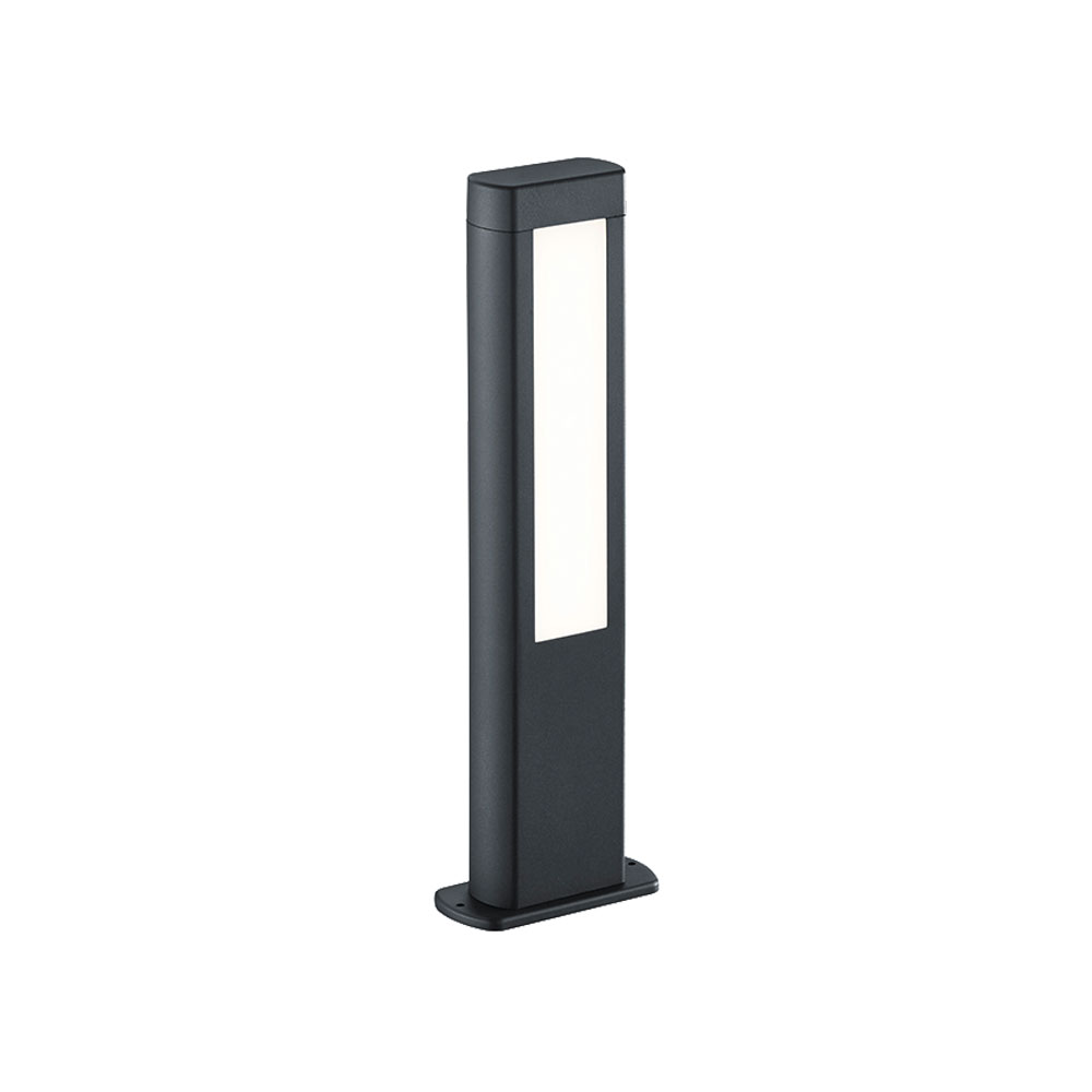 Rhine Short Rectangle LED Bollard