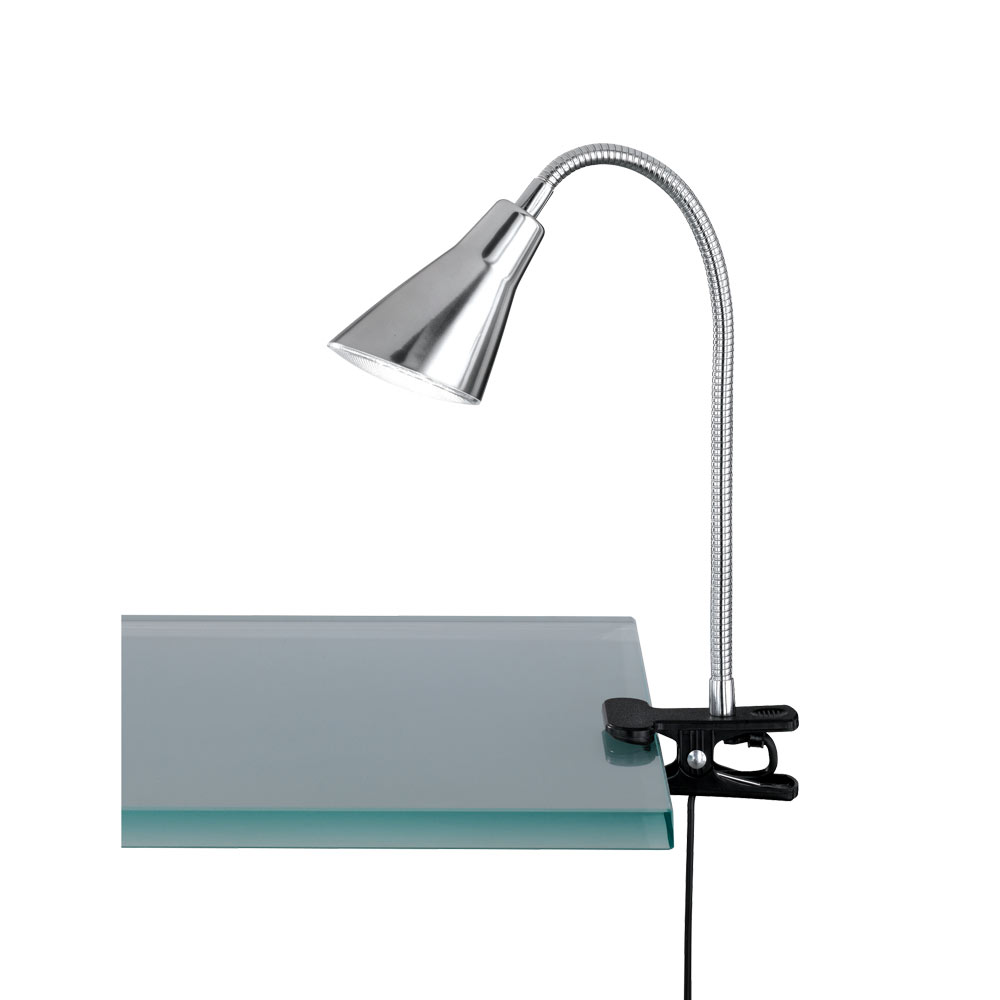 Preto Adjustable Funnel Clamping LED Lamp
