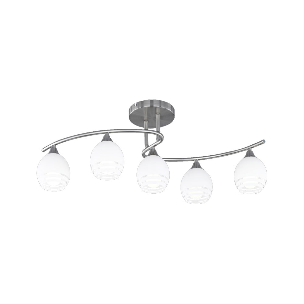 Curva Five Light Ceiling Light