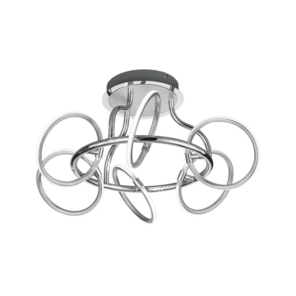 Olympus Six Ring LED Ceiling Light