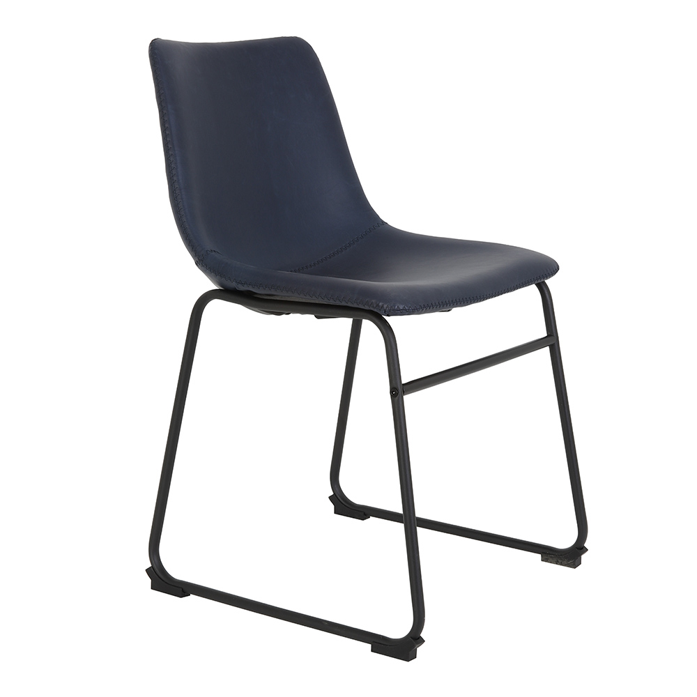 Jeddo Dining Chair Dark Blue