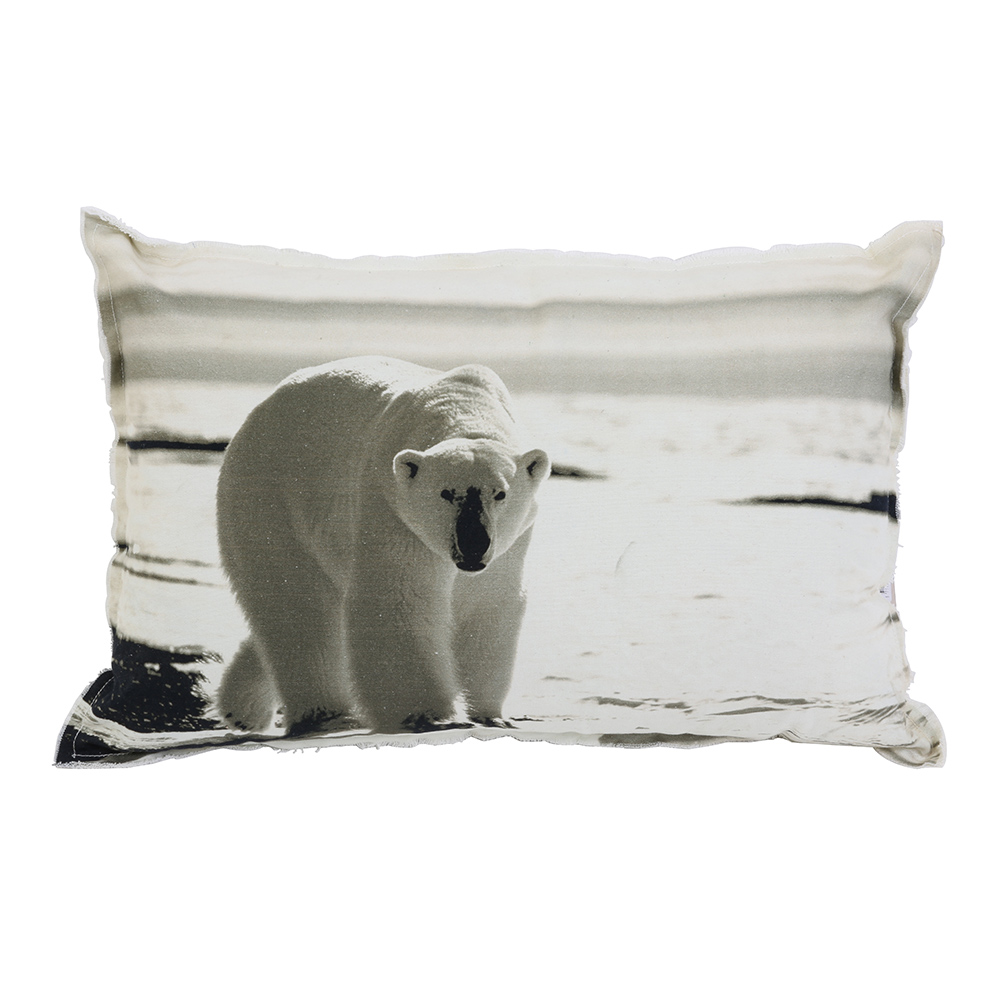 Polar Print Cushion