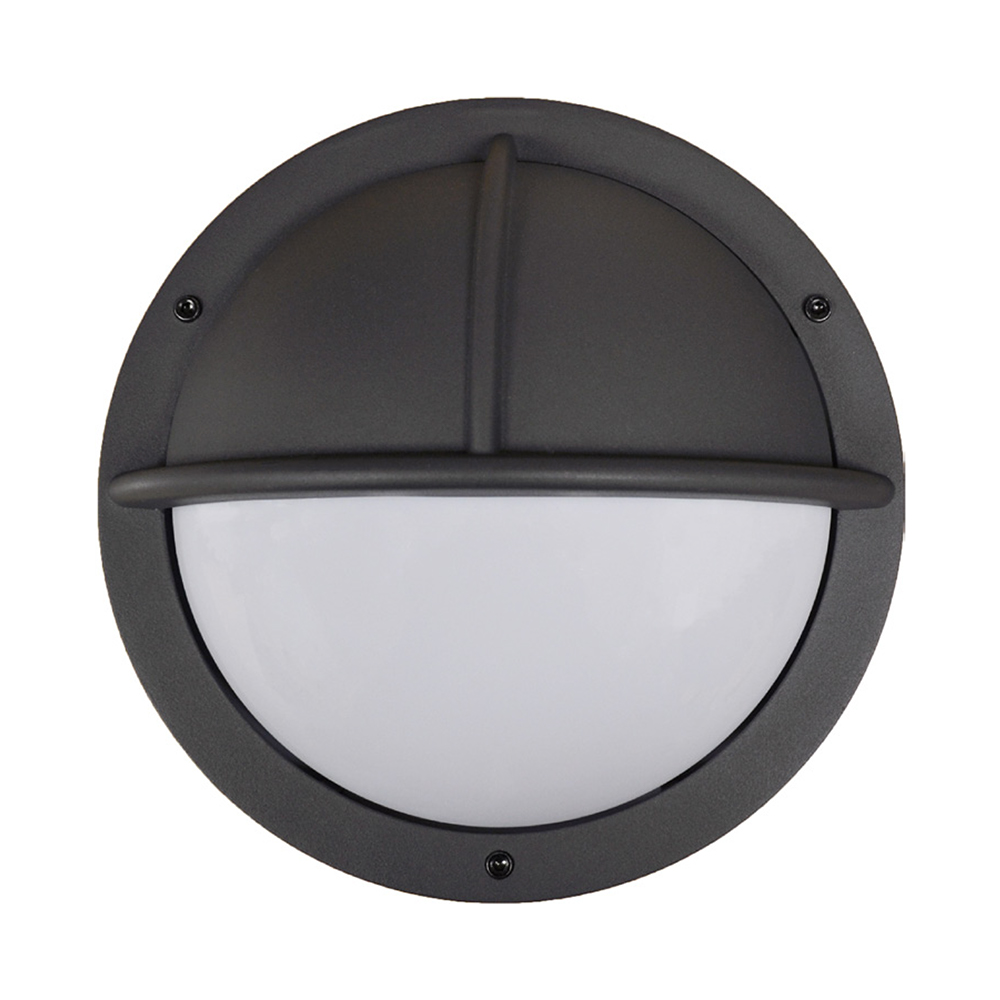 Photocell Controlled Anthracite Bulkhead