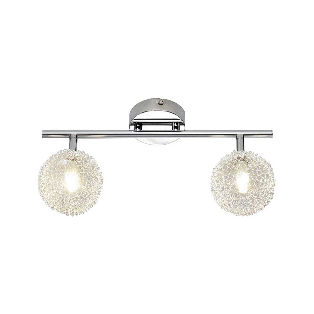 Wire Two Light Bar Ceiling Light
