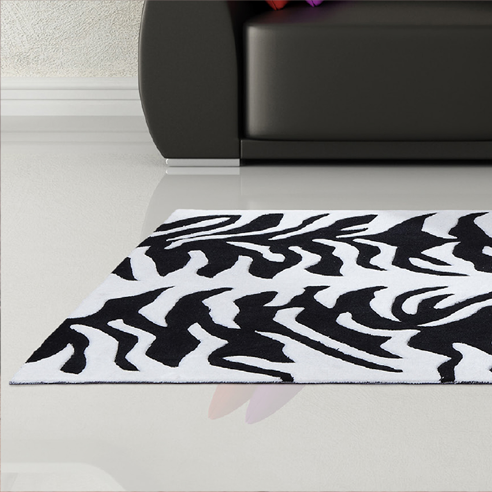 Aspire Tigre Cream & Black Rug
