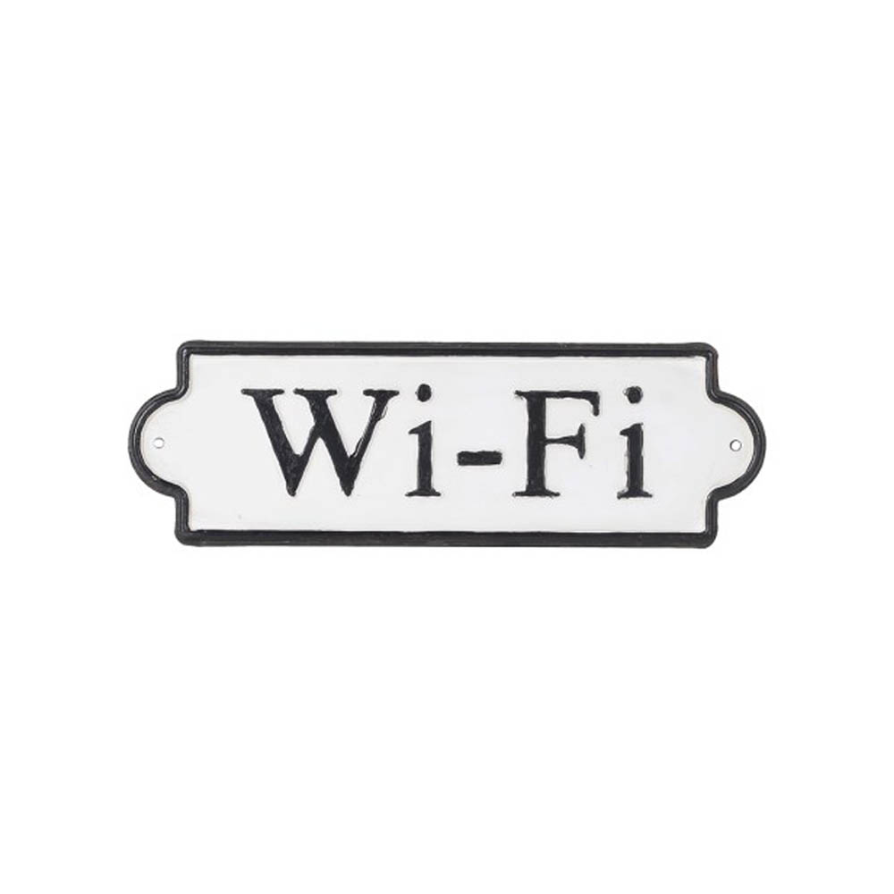 Wi-Fi Wall Sign