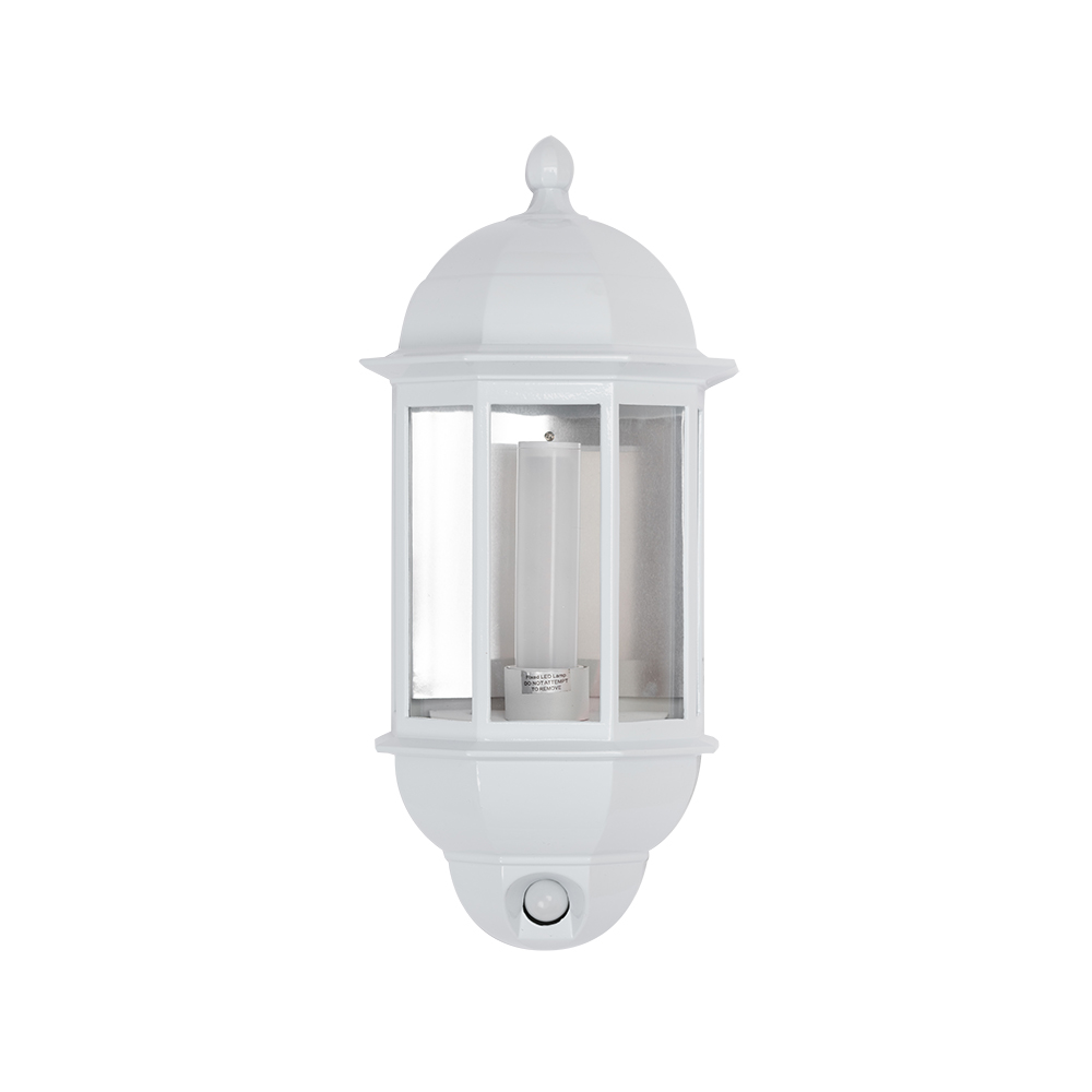 Gloss Finish Aluminium Five Panel Half Lantern