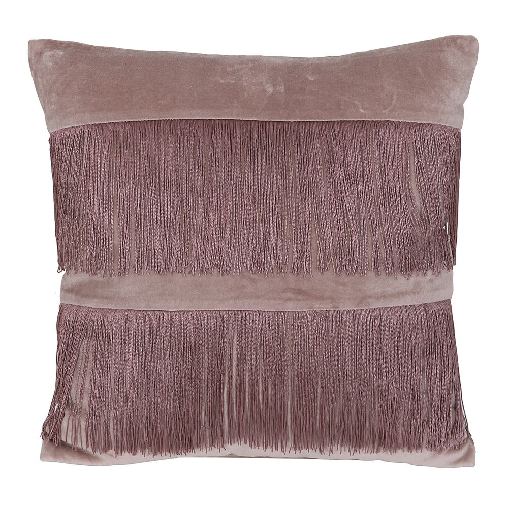 Pink Tasselled Cushion