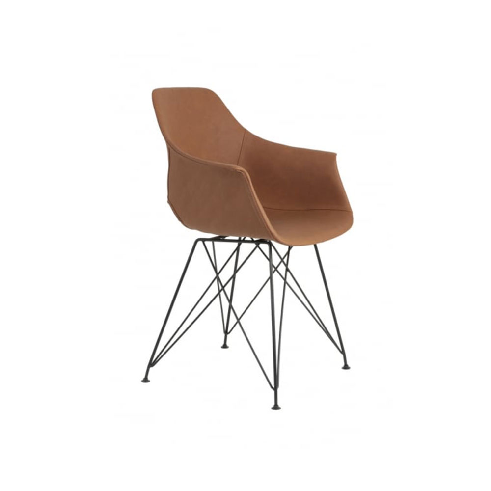 Serbin Brown Dining Chair