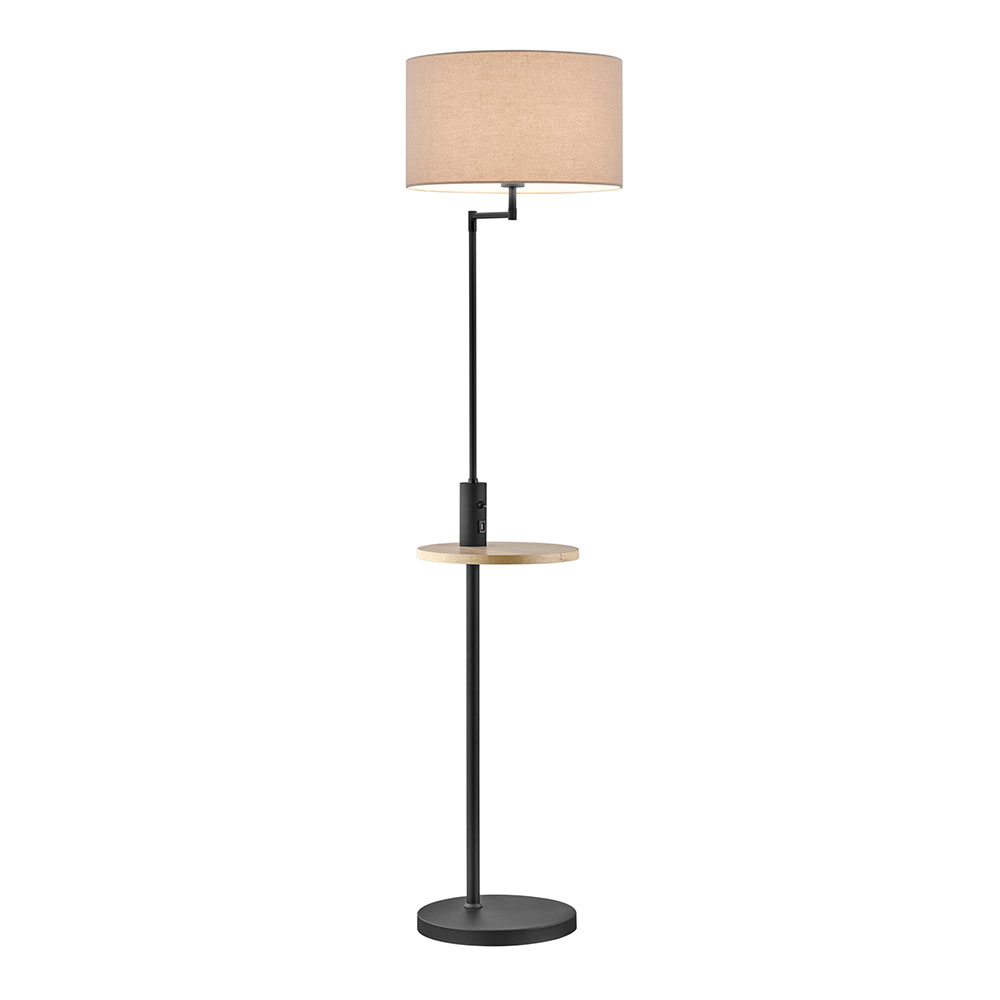 Black Matte Claas Floor Lamp
