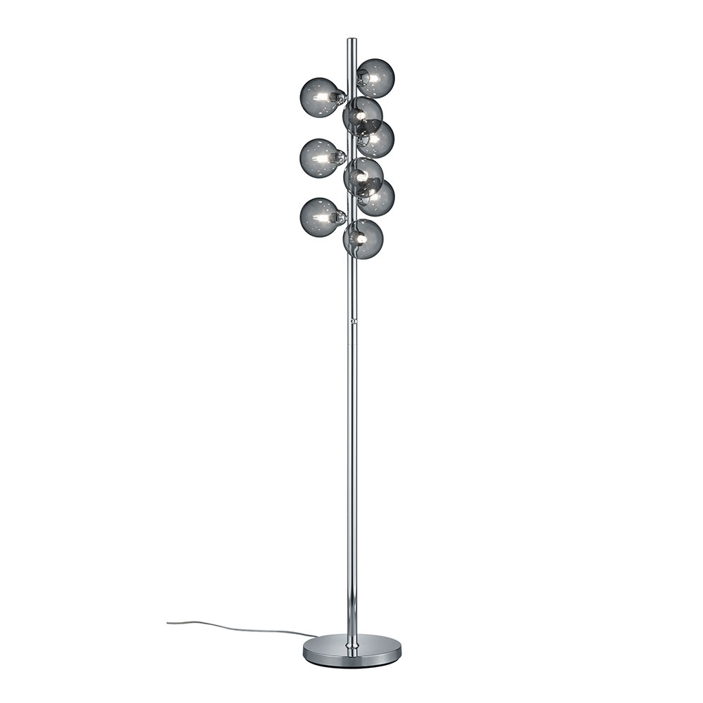 Chrome Alicia Floor Lamp