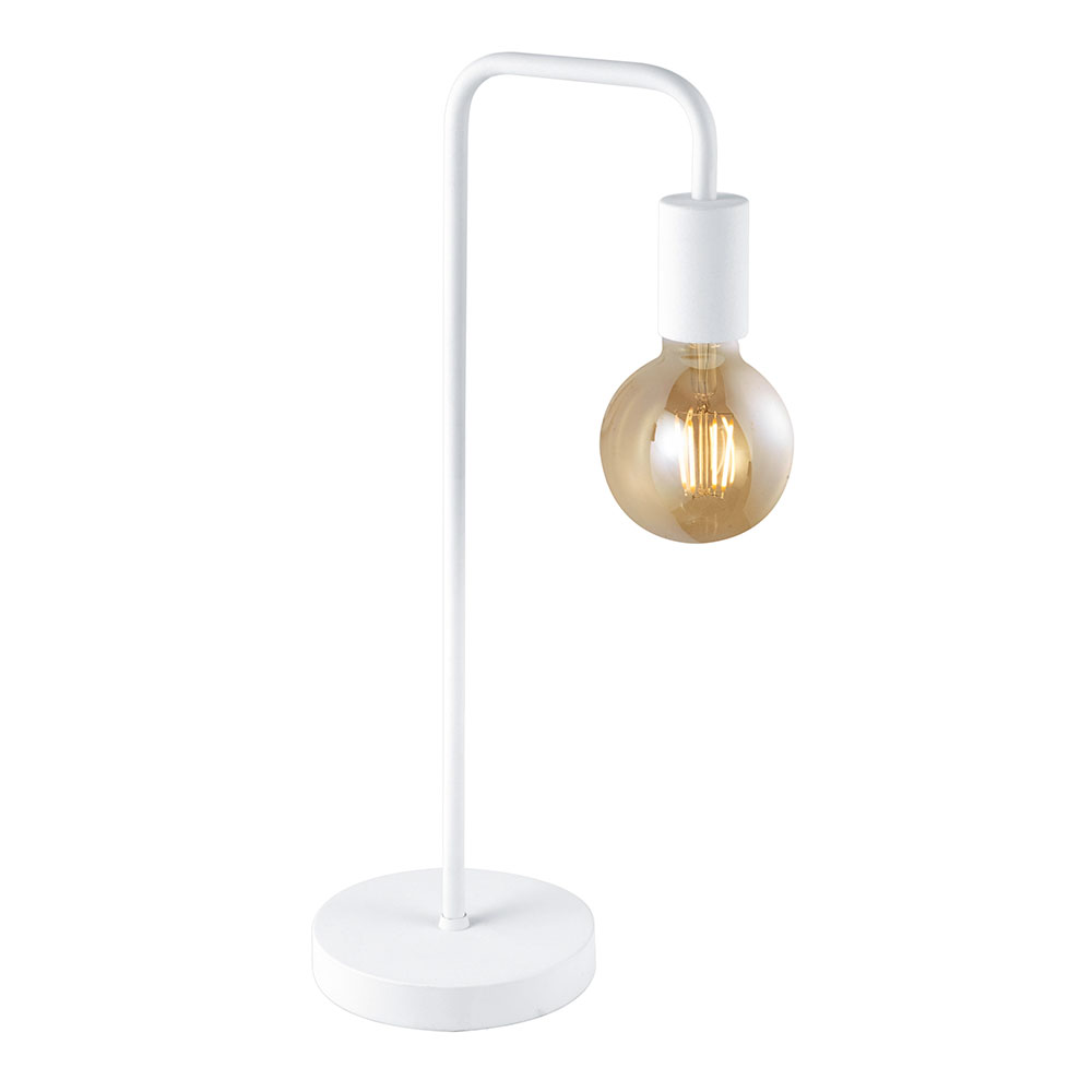 White Diallo Table Lamp