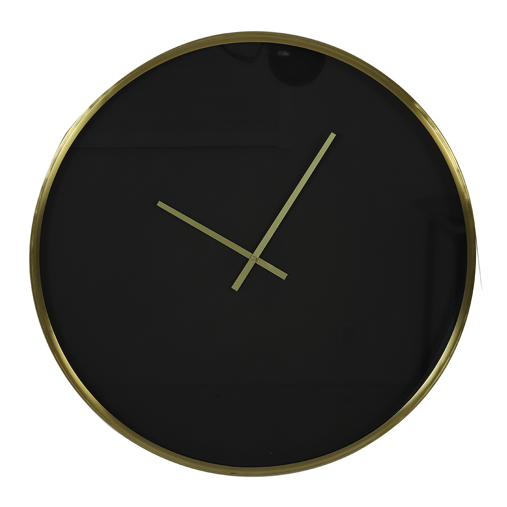 Seponi Black/Gold Wall Clock