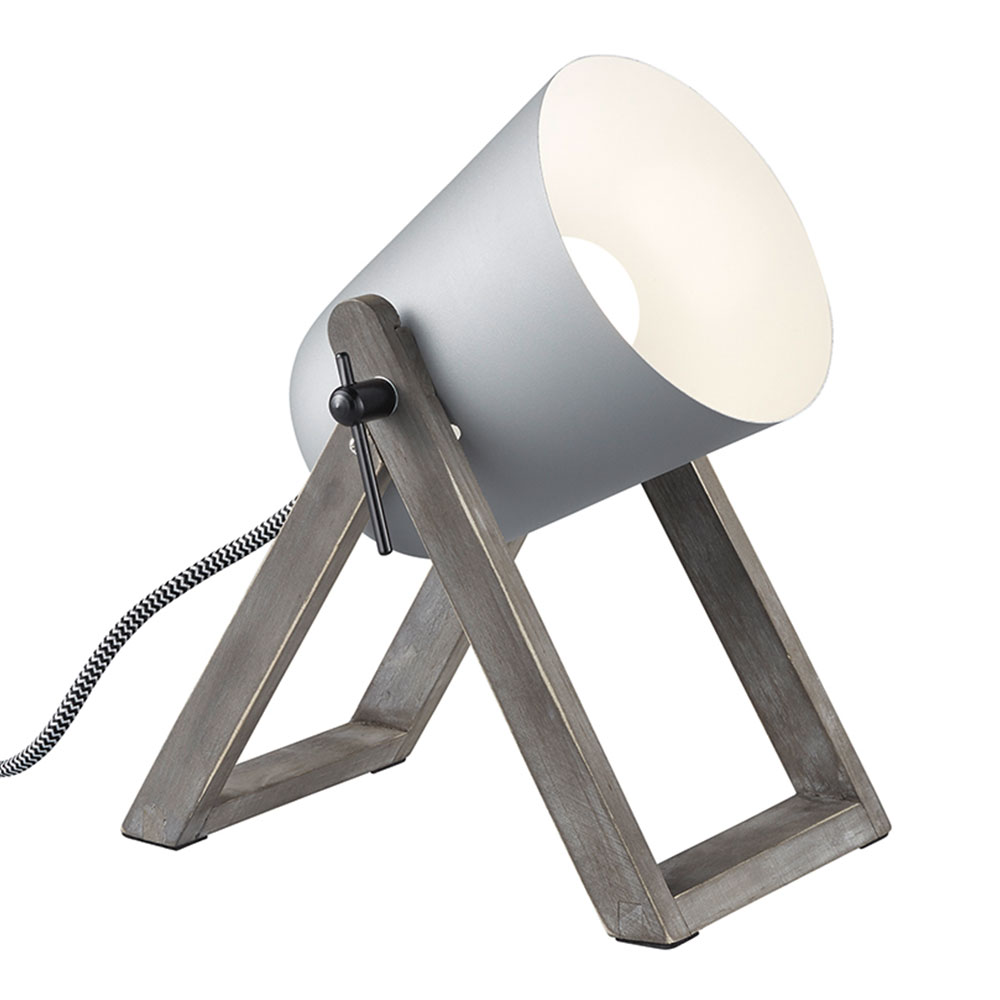 Grey Marc Table Lamp