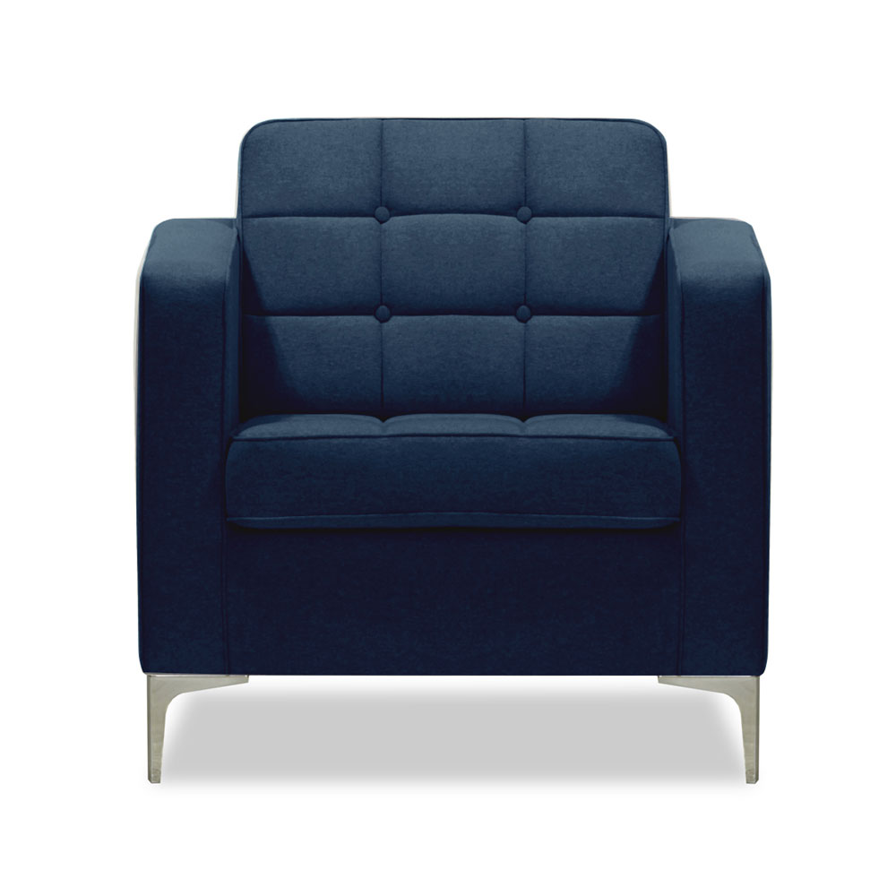 Arkle Armchair - Blue