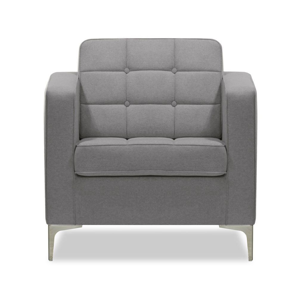 Arkle Armchair - Grey