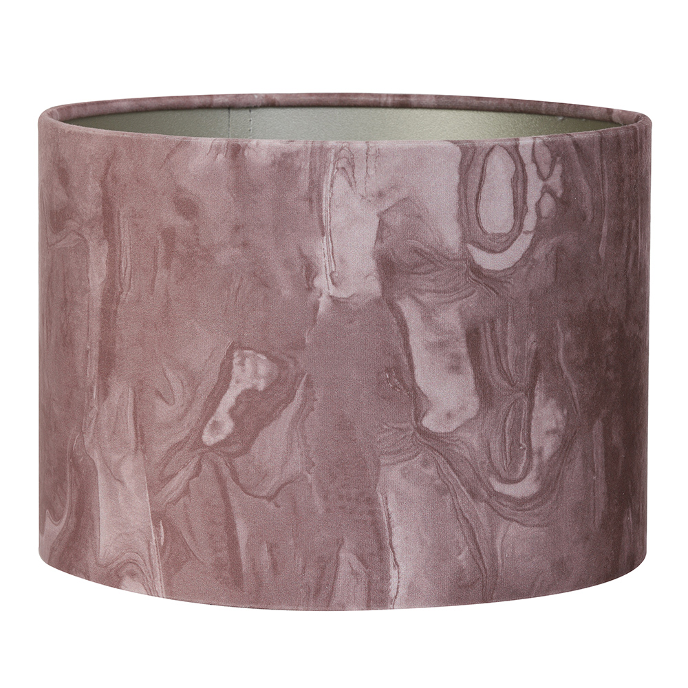 Marble Pink Shade Cylinder