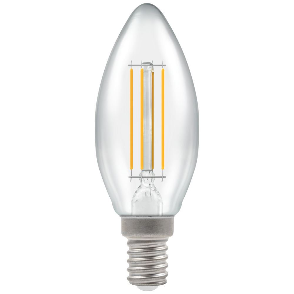 LED Filament Clear Candle SES-E14