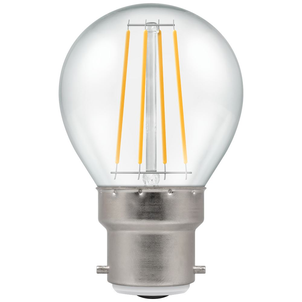 LED Filament Clear Round BC-B22d