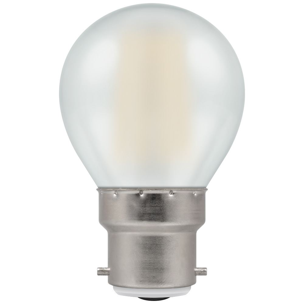 LED Filament Pearl Non-Dimmable BC-B22d