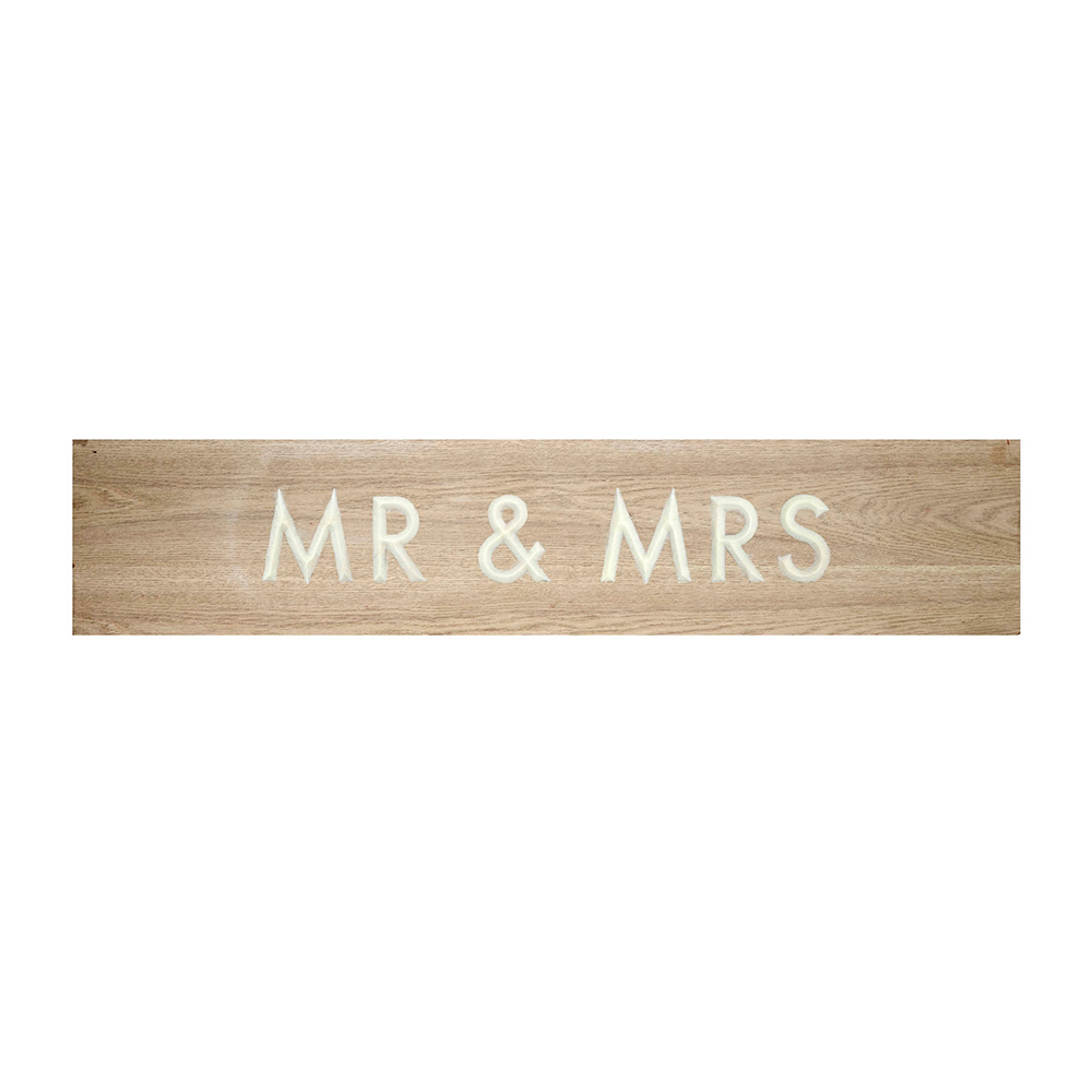 'Mr & Mrs' Sign