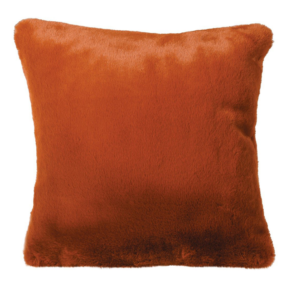 Burnt Amber Cushion Cover