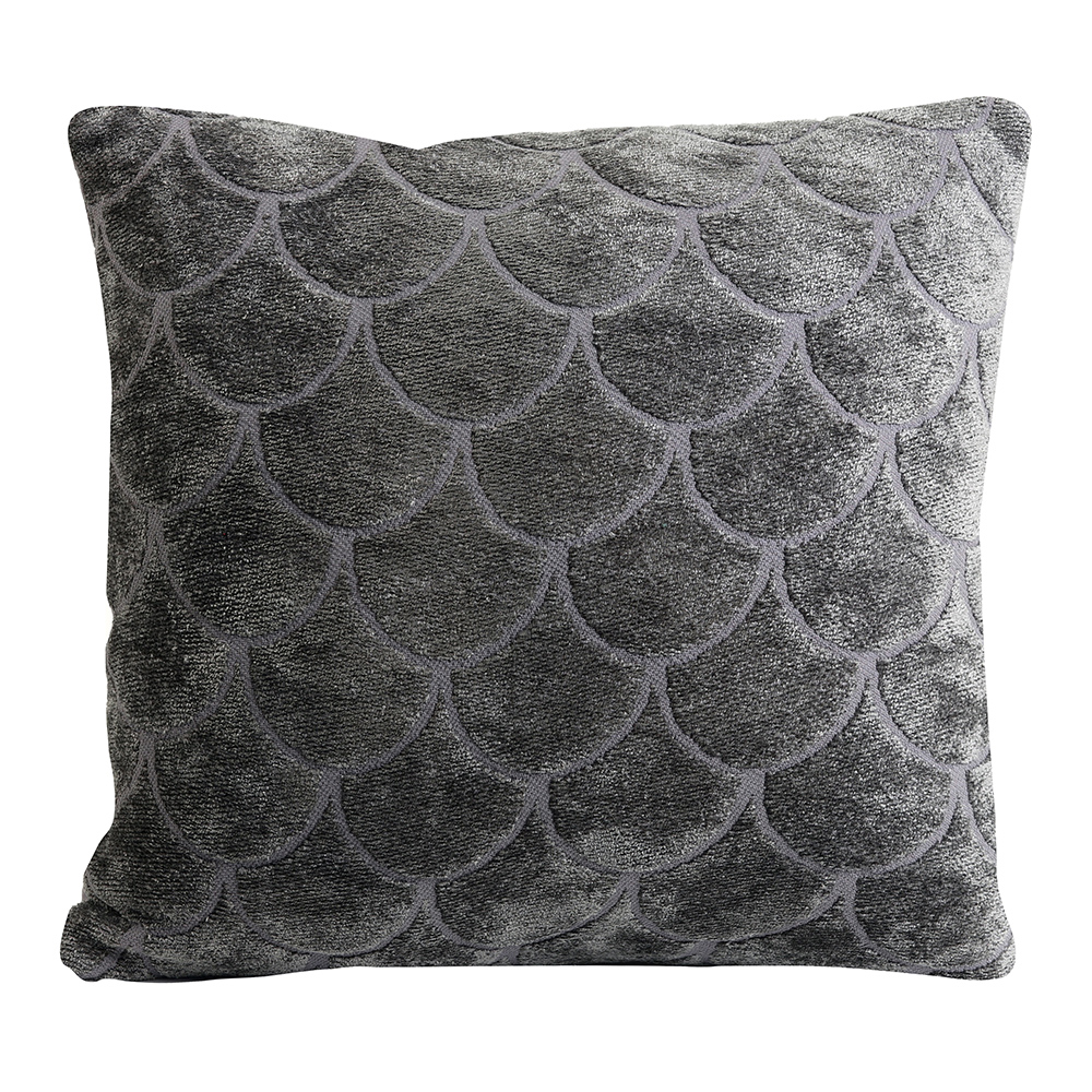 Skali Grey Square Pillow