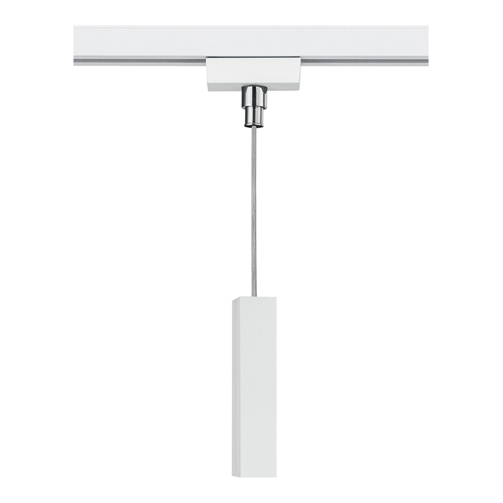 Matt White DuoLine Pendant Adapter