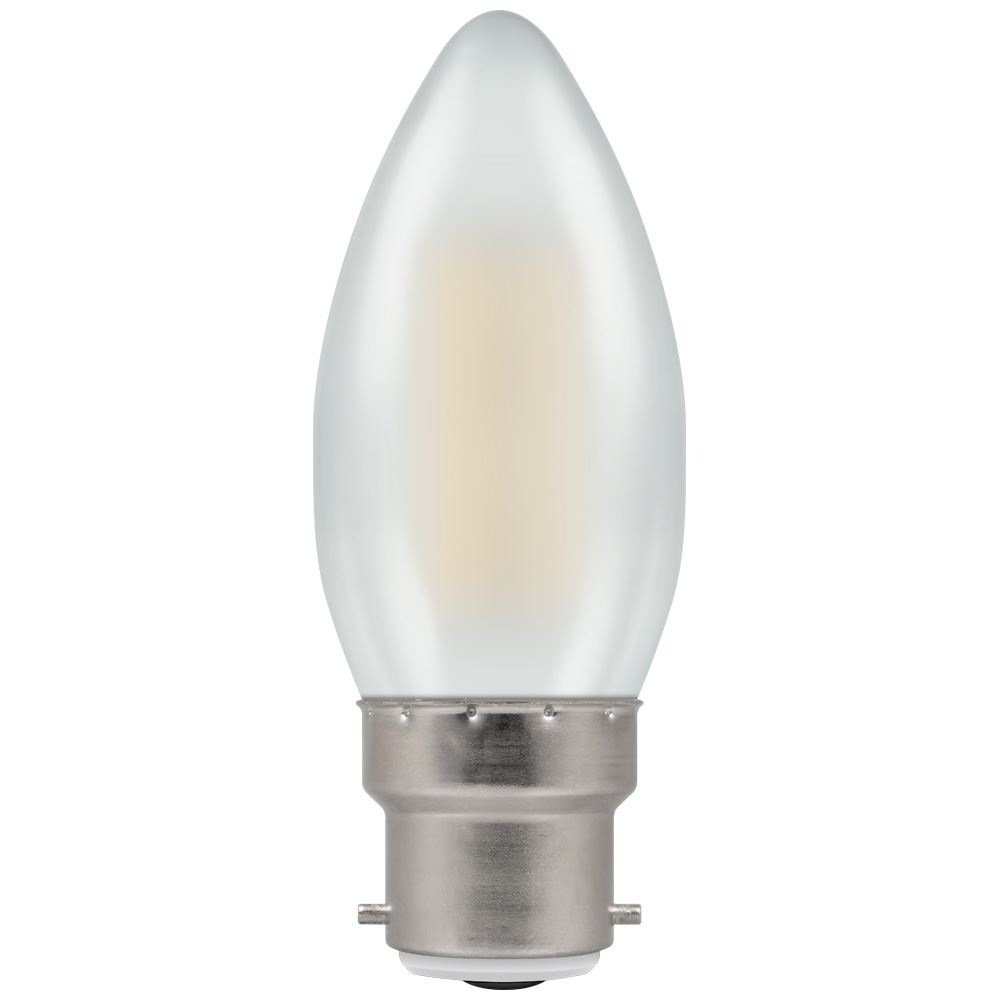 LED Filament Candle Pearl Dimmable BC-B22d
