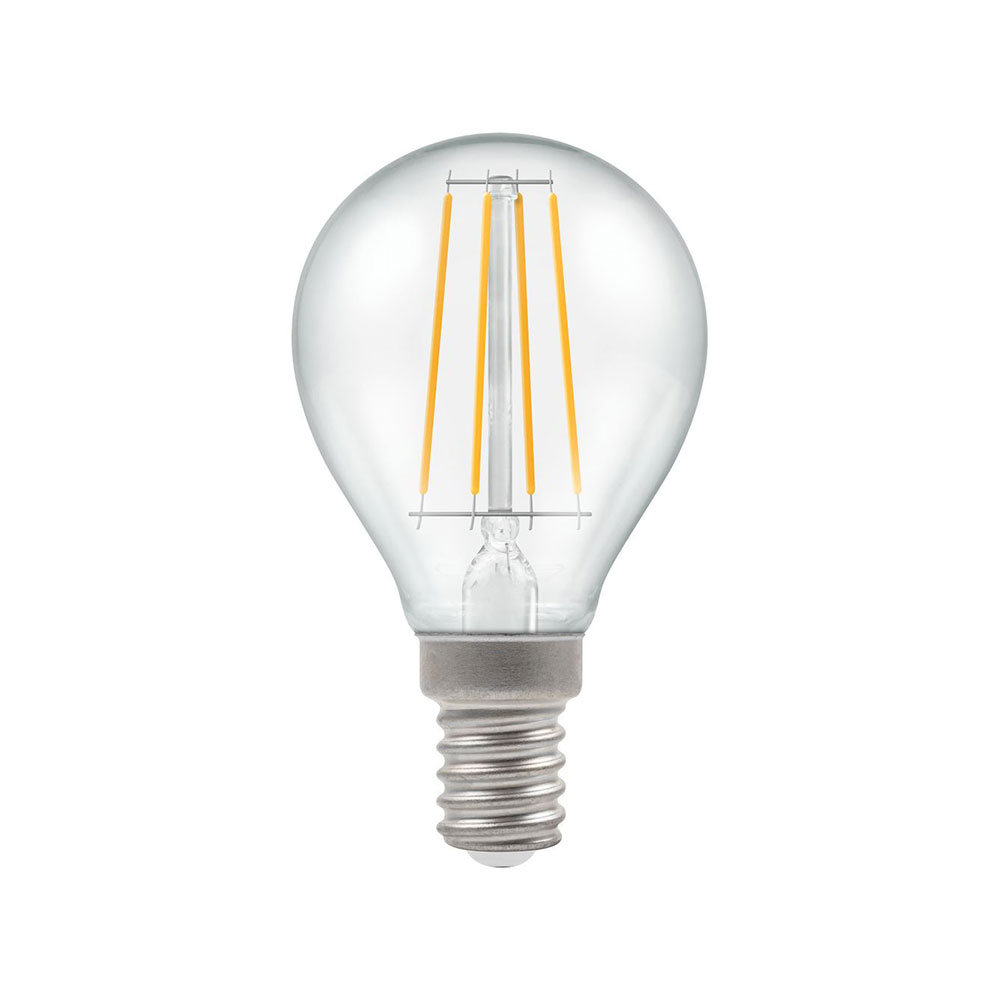 LED Filament Clear Dimmable Round SES-E14