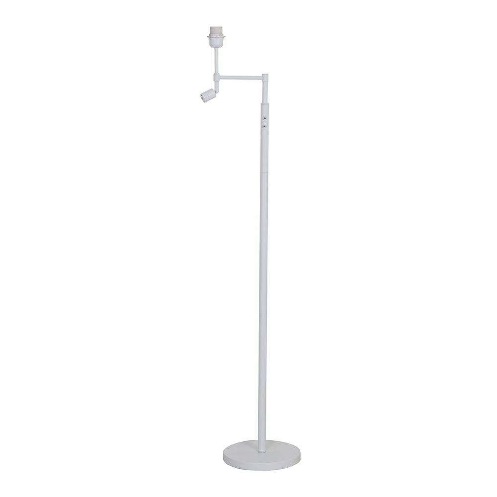 Montana Floor Lamp Base – Matt White