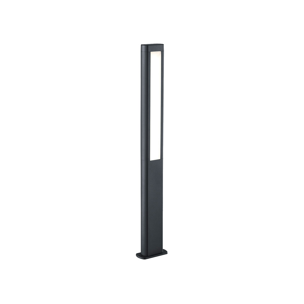 Rhine Tall Rectangle LED Bollard