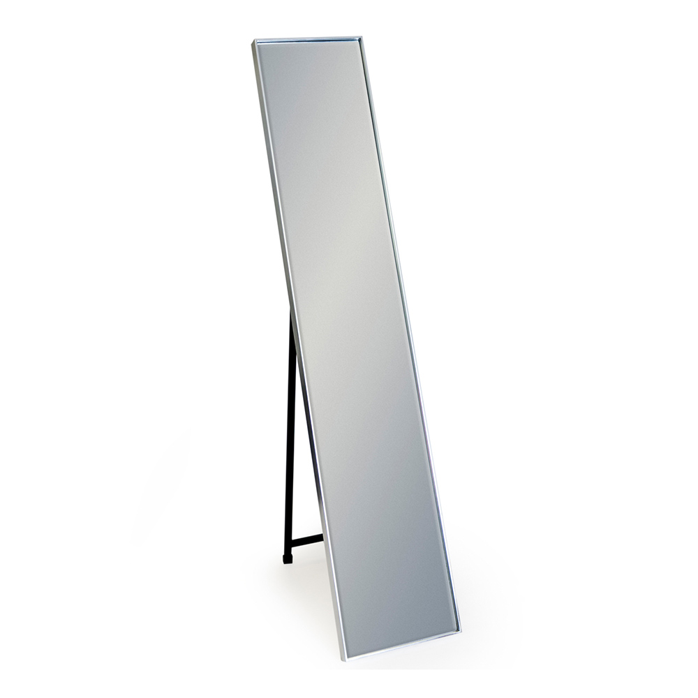 Silver Framed Arden Rectangular Dressing Mirror