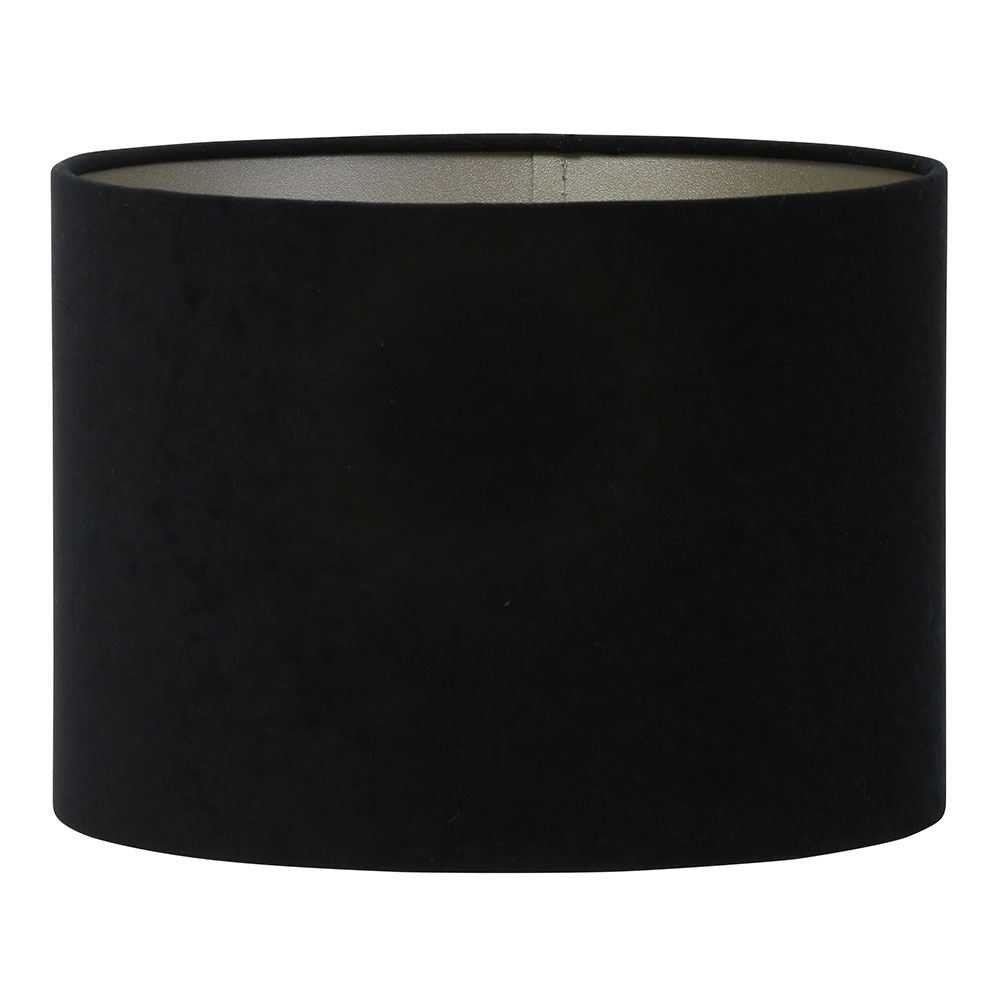 Small Black Cylinder Lampshade