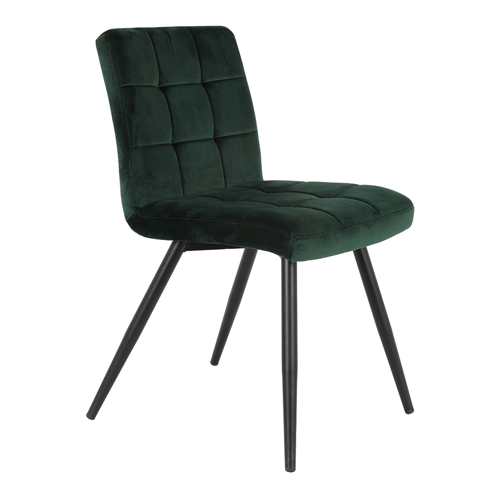 Olive Velvet Dark Green Dining Chair