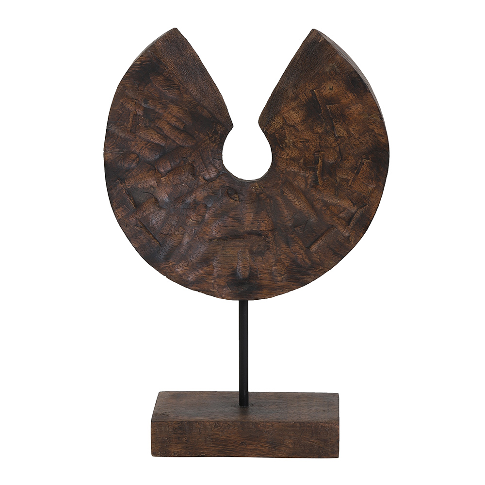 Odion Wood Brown Ornament