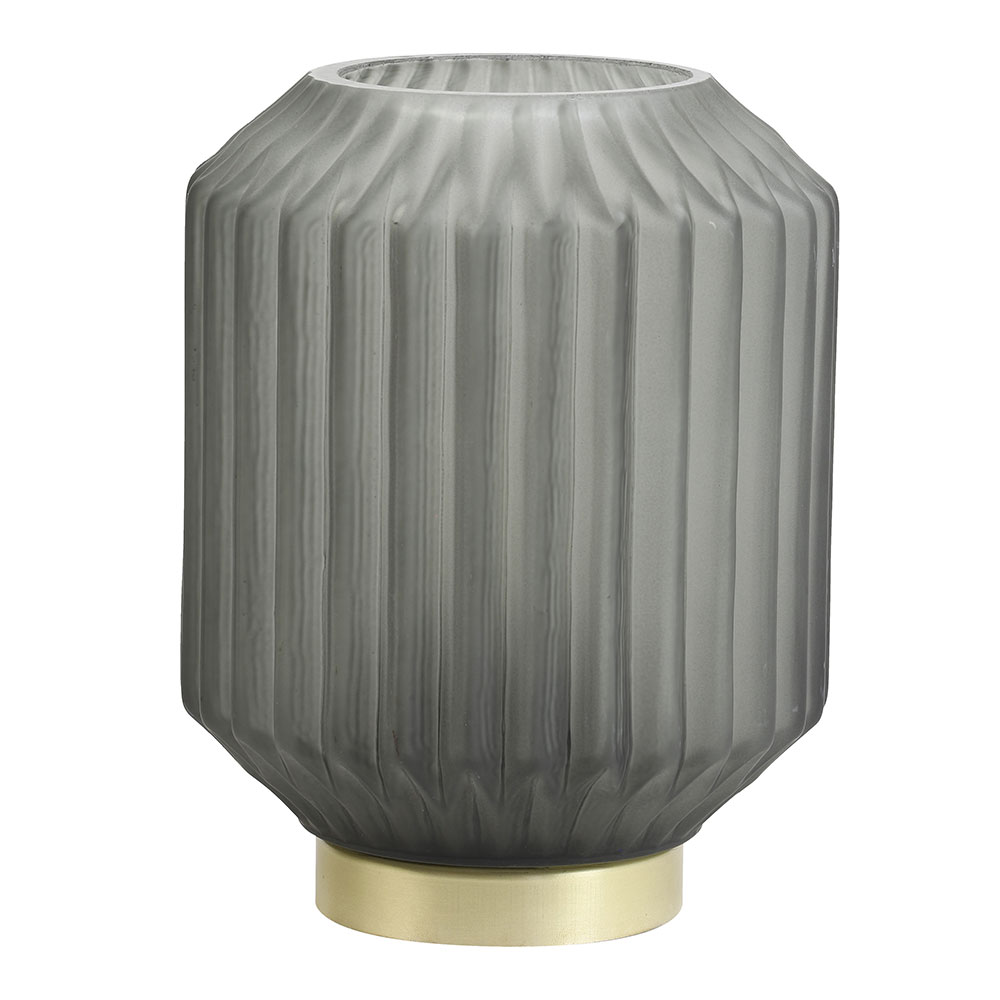Grey Ivot Table Lamp