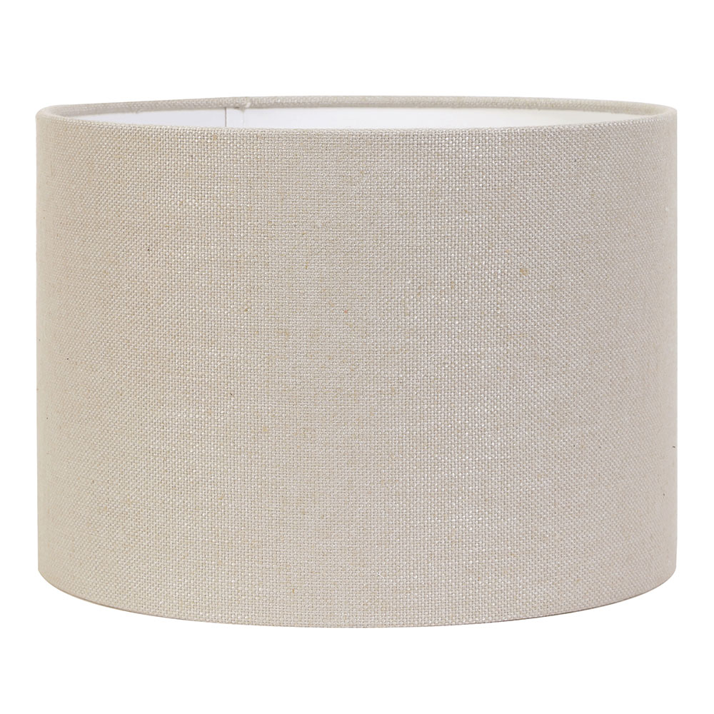 Light Grey Livigno Cylinder Lampshade