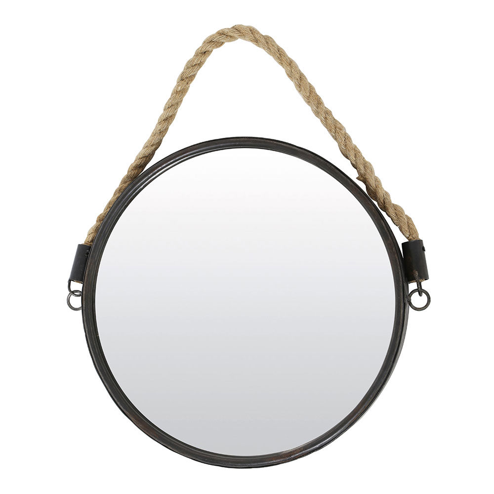 Force Bronze Mirror With Rope