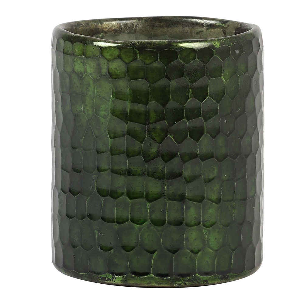 Motopi Shiny Green Tealight Holder