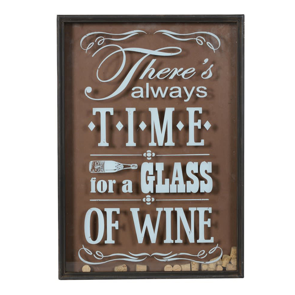 'Time For Wine' Sign