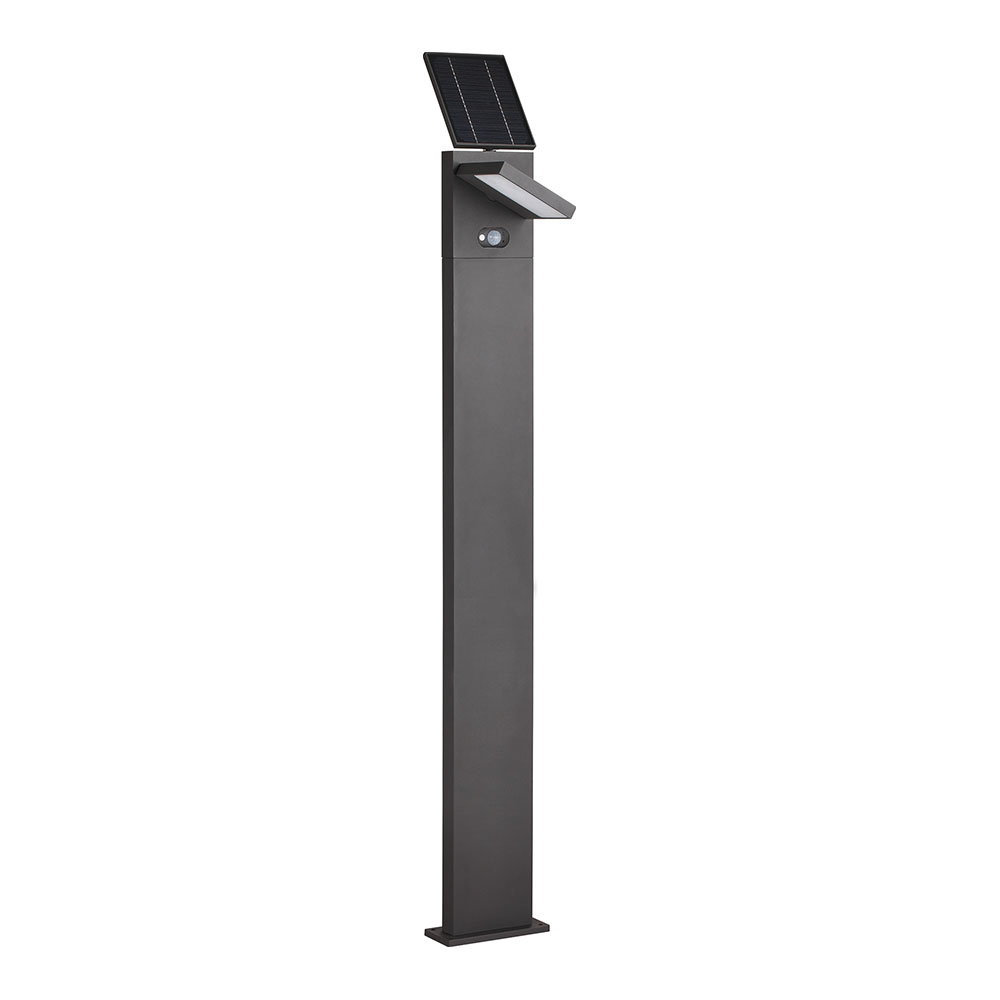 LED Solar Bollard Garden Light