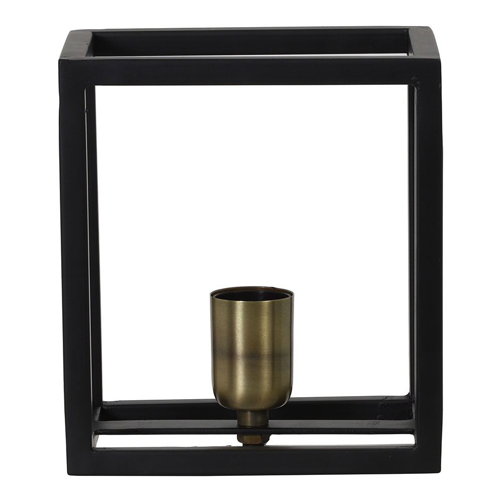 Glenny Matt Black Wall Lamp