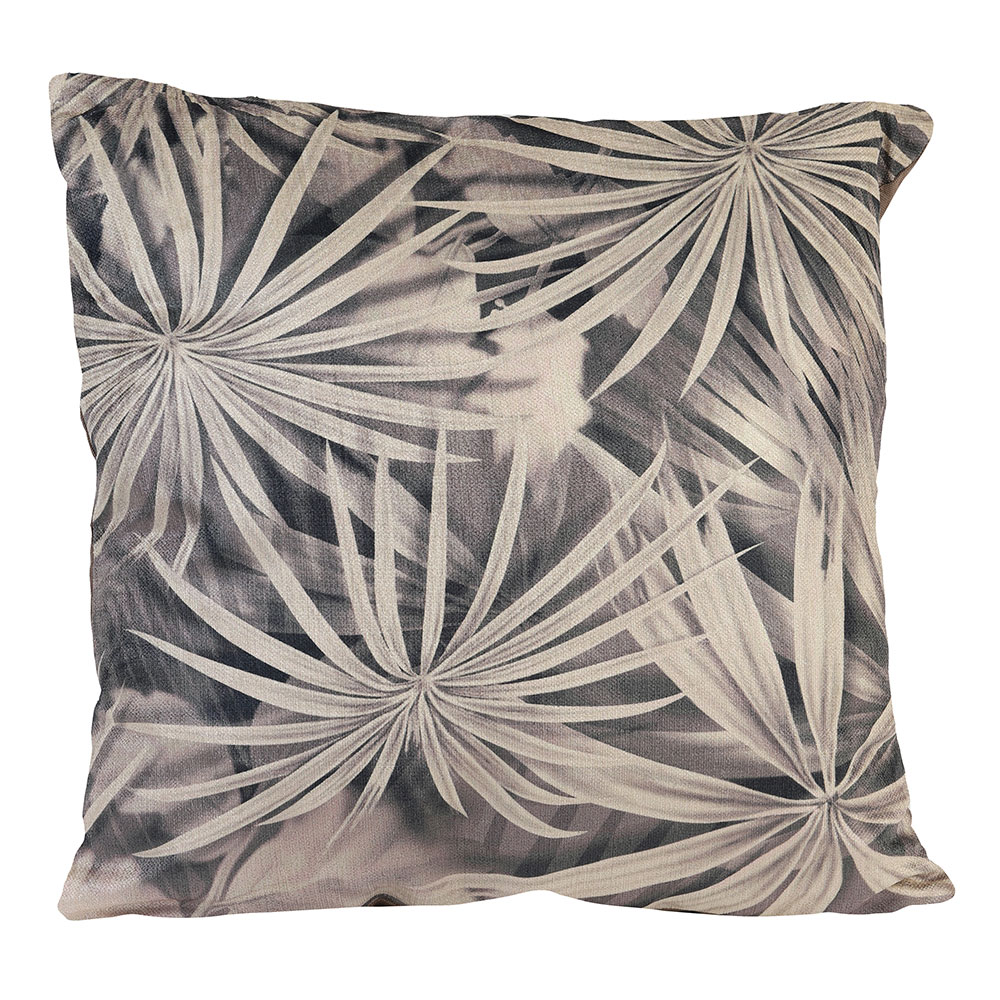 Brown Ishiri Print Pillow