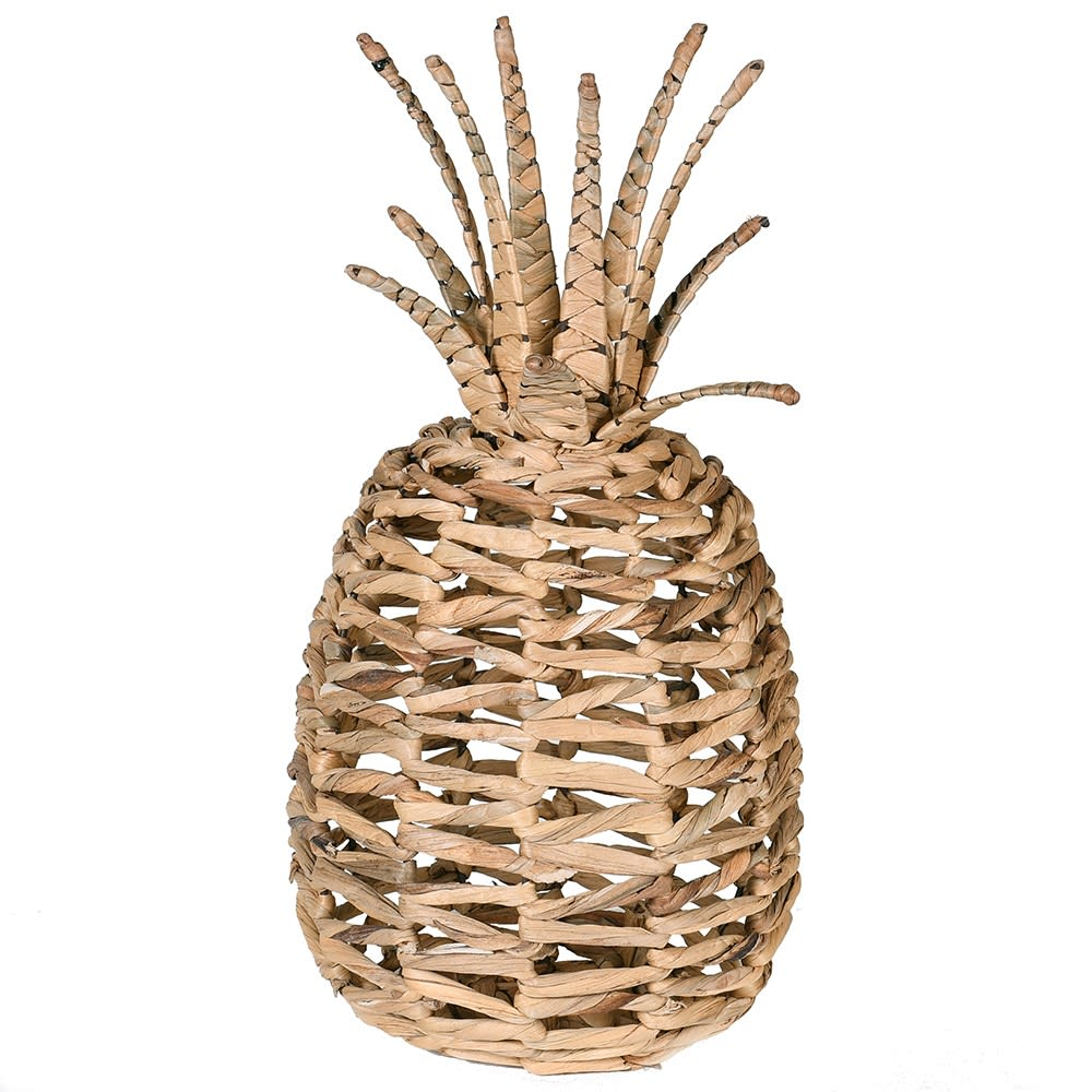 Natural Seagrass Pineapple Ornament